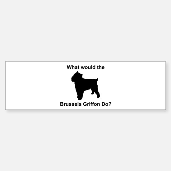 What would the Brussels Griff Bumper Bumper Bumper Sticker