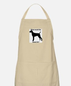 What would the Vizsla do BBQ Apron