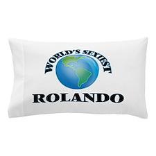 World's Sexiest Rolando Pillow Case