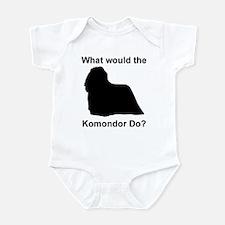 What would the Komondor do Infant Bodysuit