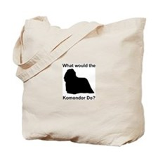 What would the Komondor do Tote Bag