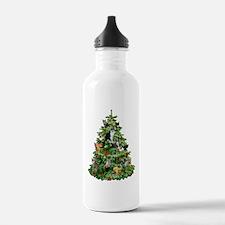 Cats in Tree Water Bottle