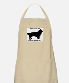 What would the Sussex Spaniel BBQ Apron
