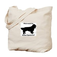 What would the Sussex Spaniel Tote Bag