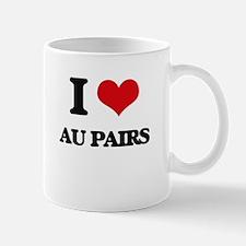 I love Au Pairs Mugs