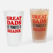 Promoted To Dziadek Drinkware Drinking Glass