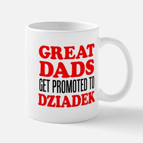 Promoted To Dziadek Drinkware Mugs