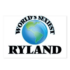 World's Sexiest Ryland Postcards (Package of 8)