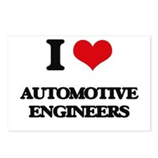 I love Automotive Enginee Postcards (Package of 8)