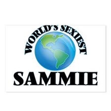 World's Sexiest Sammie Postcards (Package of 8)