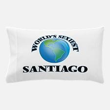 World's Sexiest Santiago Pillow Case