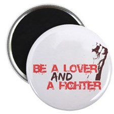 Lover and Fighter Magnets