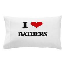 I love Bathers Pillow Case