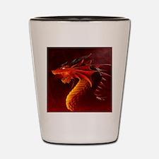 red dragon Shot Glass