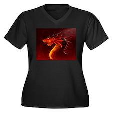 red dragon Plus Size T-Shirt
