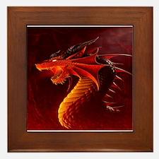 red dragon Framed Tile