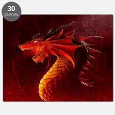 red dragon Puzzle