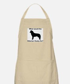 What would the Siberian Husky BBQ Apron