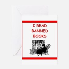 banned books Greeting Cards