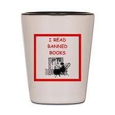banned books Shot Glass