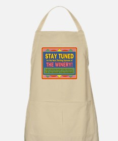 Stay Tuned - Winery BBQ Apron