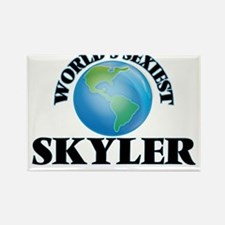 World's Sexiest Skyler Magnets