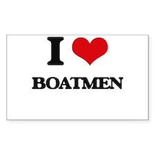I love Boatmen Decal