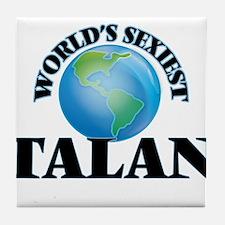 World's Sexiest Talan Tile Coaster