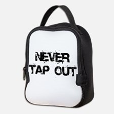 Never Tap Out Neoprene Lunch Bag