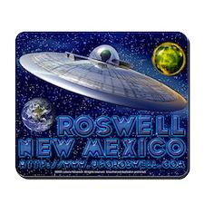 Roswell Alien Space Mousepad
