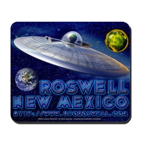 Roswell Alien Space Mousepad