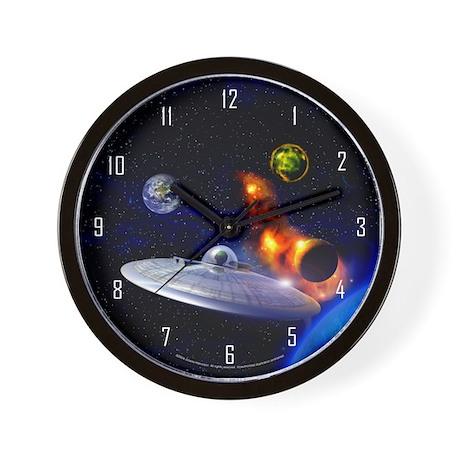 Roswell Alien Space Wall Clock