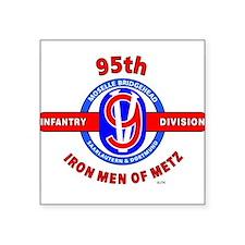 95TH Infantry Division Iron Men of Met Sticker