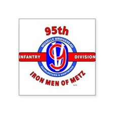 95TH Infantry Division Iron Men of Met Sticker