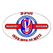 95TH Infantry Division Iron Men of Met Decal