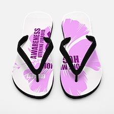 Awareness Fibroid Flip Flops