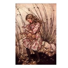 Rackham's Alice with Pig Postcards (Package of 8)