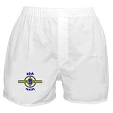 26TH Infantry Division Yankee Boxer Shorts