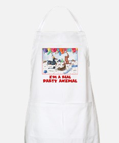 Party Dachshunds BBQ Apron