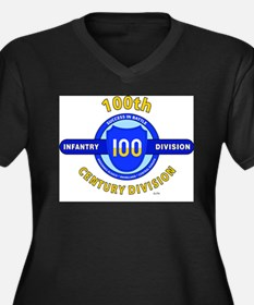 100th Infantry Division Century Plus Size T-Shirt