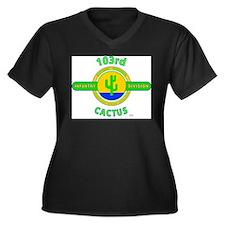 103rd Infantry Division Cactus Plus Size T-Shirt