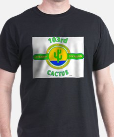 103rd Infantry Division Cactus T-Shirt