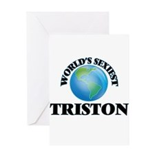 World's Sexiest Triston Greeting Cards