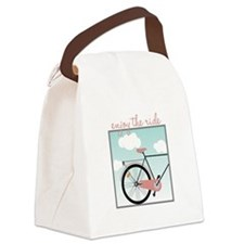 Enjoy The Ride Canvas Lunch Bag