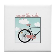 Enjoy The Ride Tile Coaster