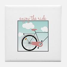 Enjoy The Ride Tile Coaster