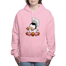 Chef Penguin Women's Hooded Sweatshirt