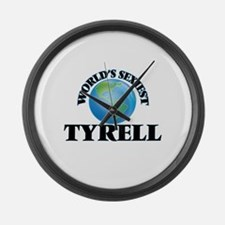 World's Sexiest Tyrell Large Wall Clock