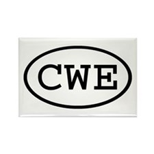 CWE Oval Rectangle Magnet