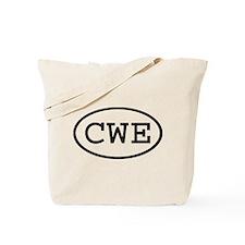 CWE Oval Tote Bag